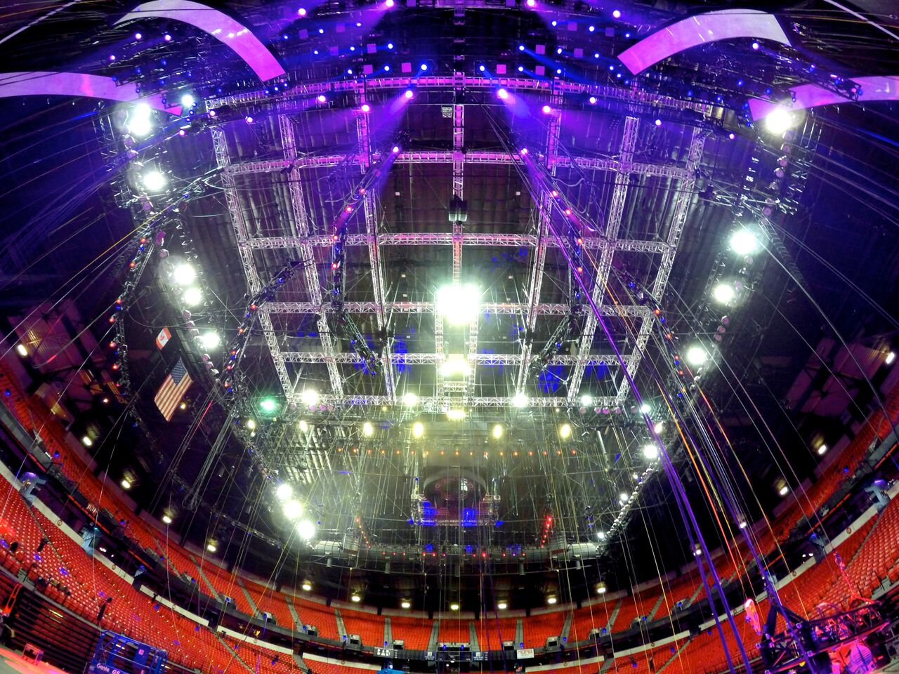 Stadium Construction and Maintenance Solutions with Rope Access