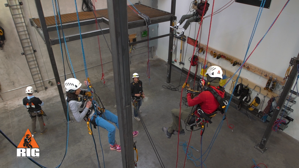 Rope Access Training & Certification Courses - Rigging International ...